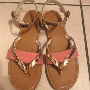 96ae885227ba Toms Shoes - Toms  Rose Gold Specchio Women s Lexie Sandal